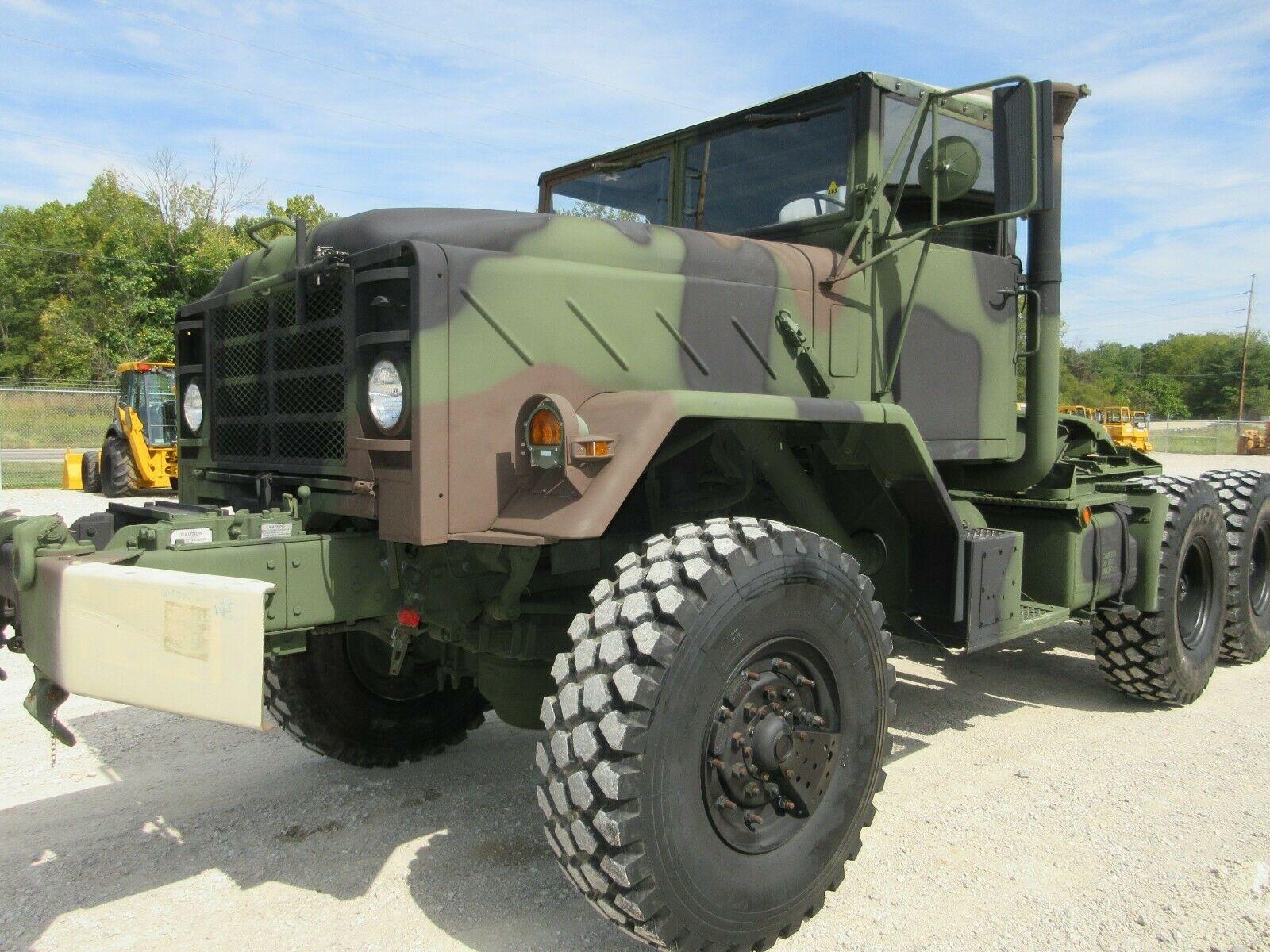 very clean 1990 BMY Semi Truck Military