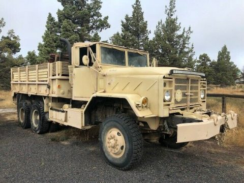 very solid 1983 AM General M925 6X6 military for sale