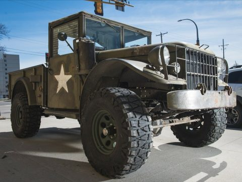 vintage 1955 Dodge M37 Power Wagon military for sale