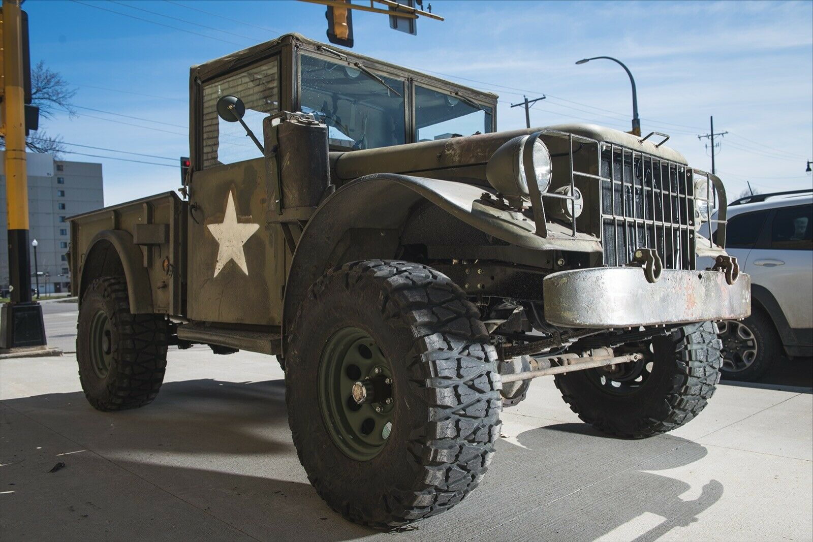 vintage 1955 Dodge M37 Power Wagon military for saleMilitary vehicles for sale
