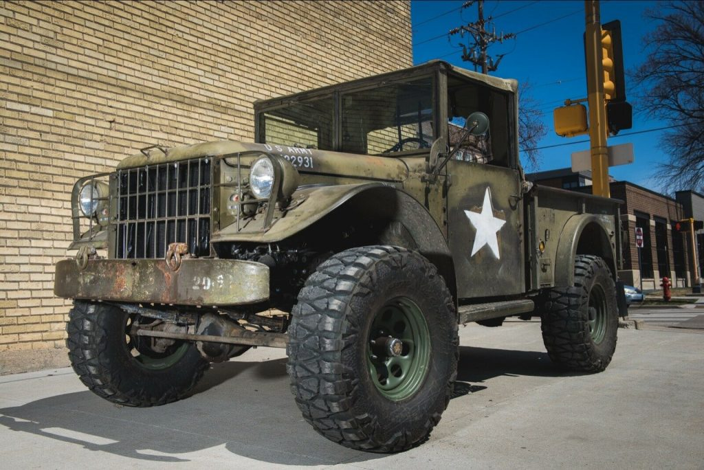 vintage 1955 Dodge M37 Power Wagon military