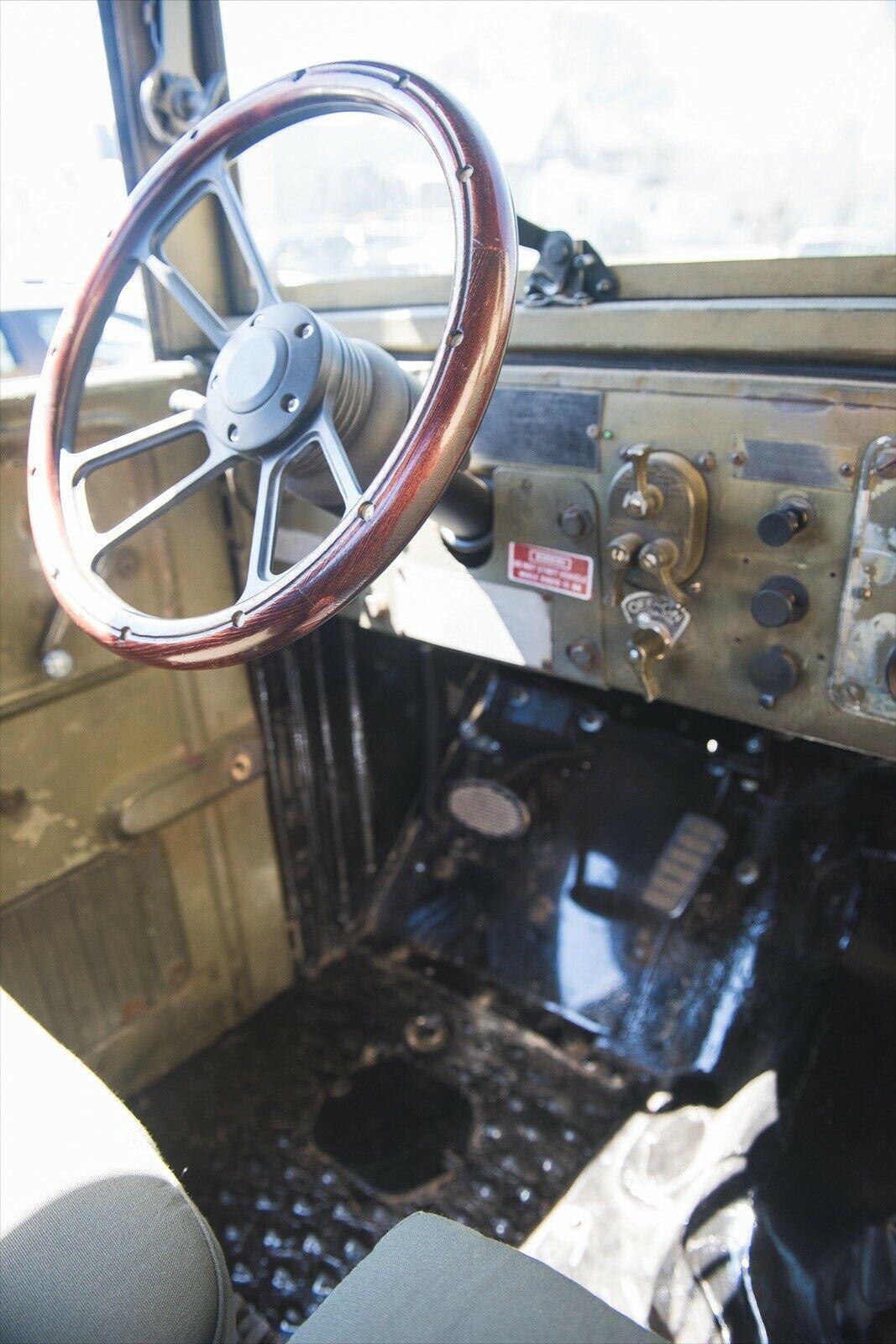 vintage 1955 Dodge M37 Power Wagon military