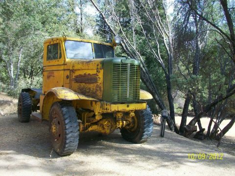 former snow blower 1959 Oshkosh W 1700 military for sale