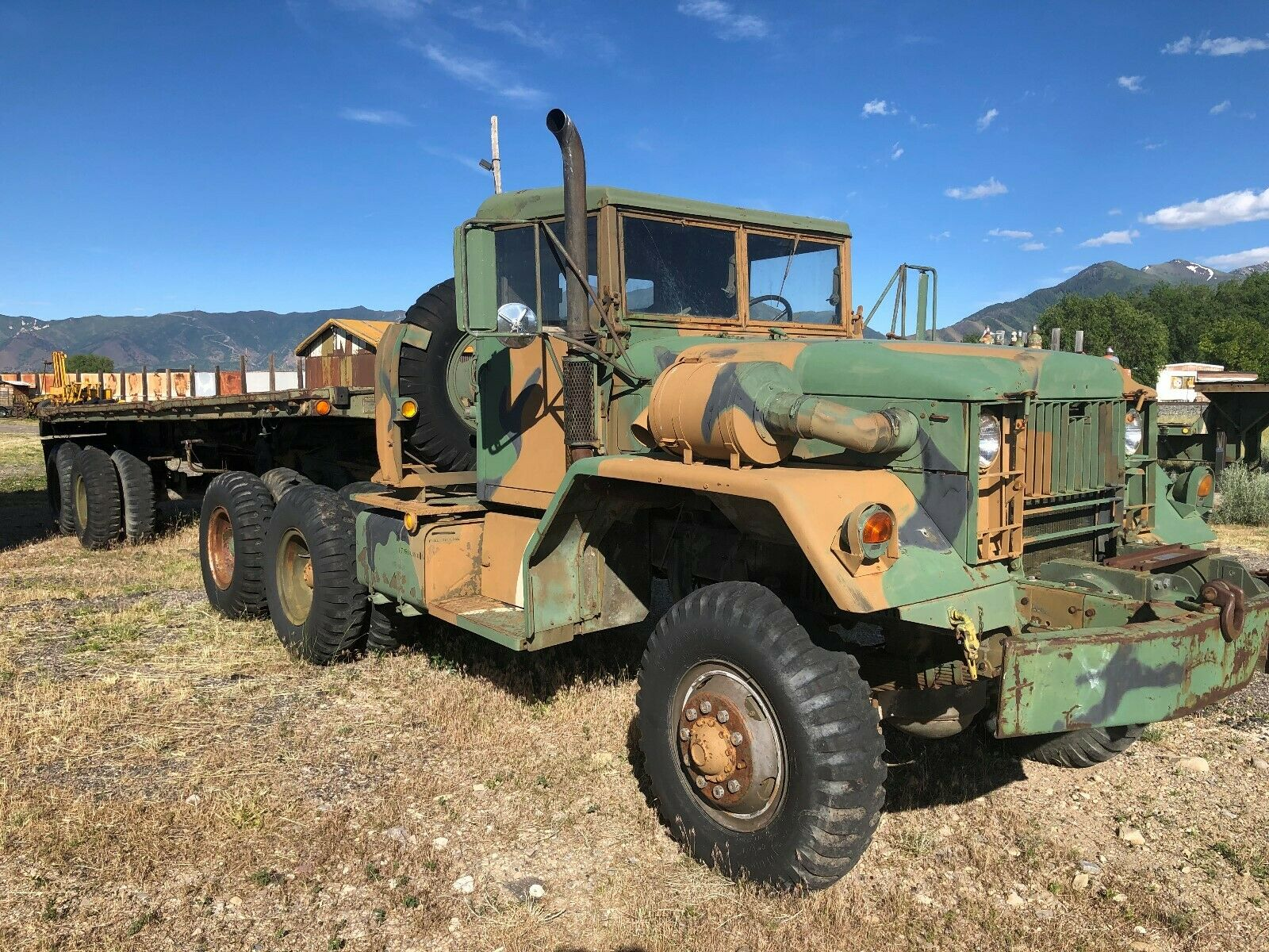 low miles 1962 Kaiser M52 A1 5 TON 6X6 Tractor military for sale