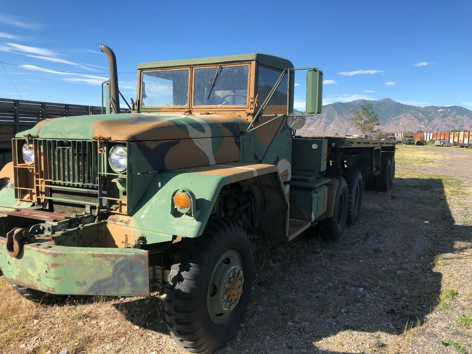 low miles 1962 Kaiser M52 A1 5 TON 6X6 Tractor military