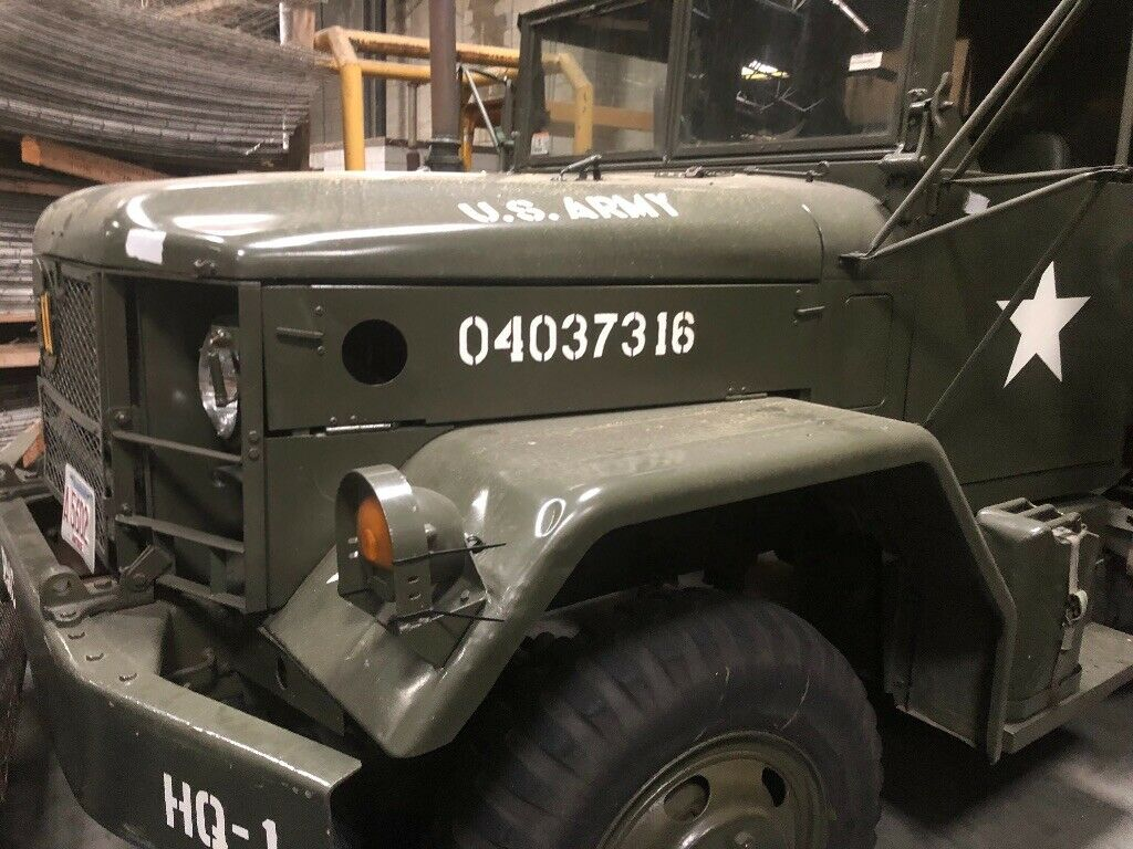 low miles 1971 AM General M35a2 2.5 Ton 6X6 military for sale