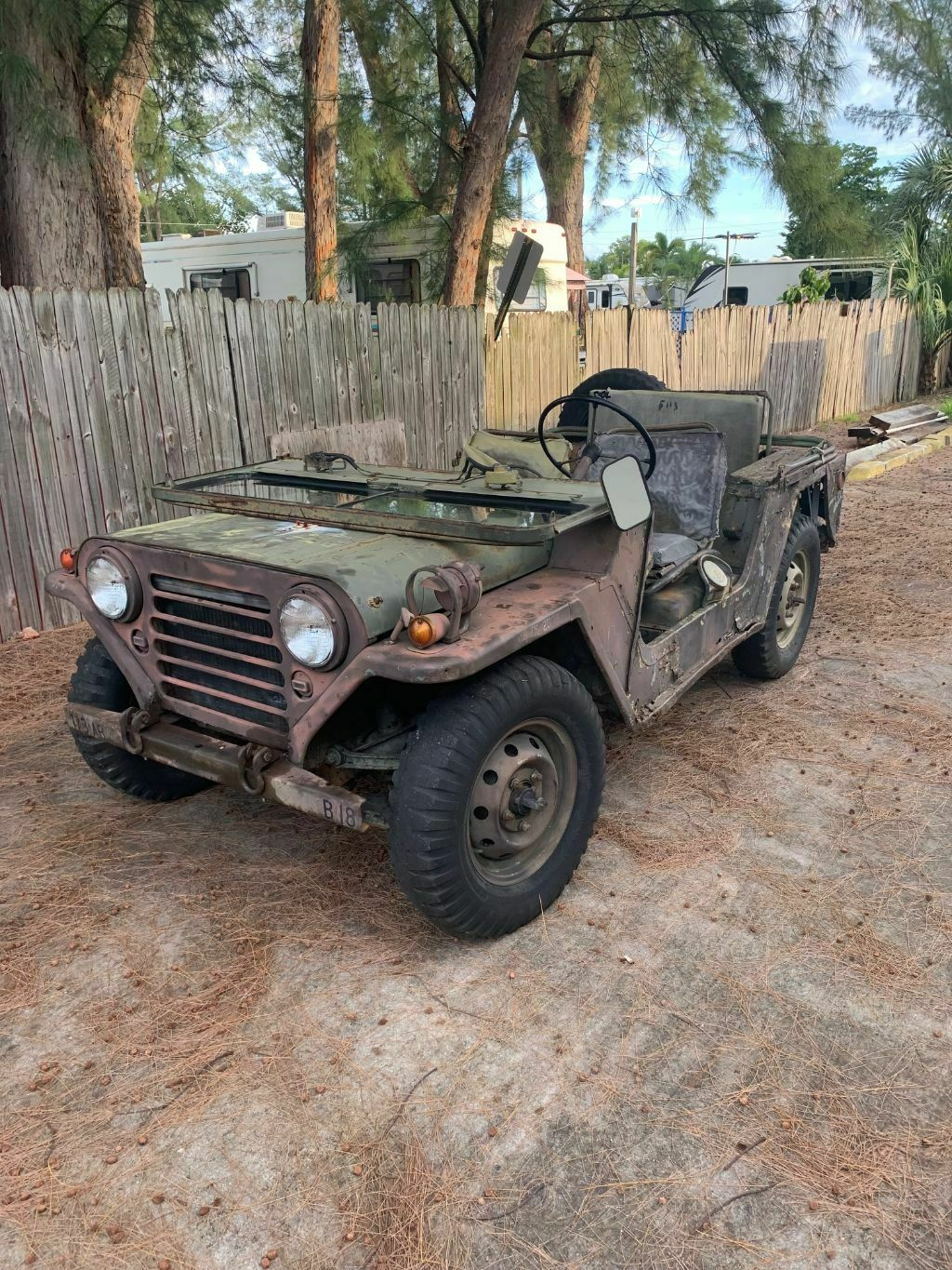 solid 1965 Ford M151 MUTT for sale