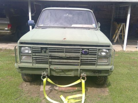solid 1984 Chevrolet CUCV Blazer military for sale