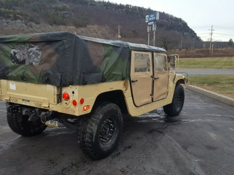 strong running 1986 Hummer Humvee 998 military for sale
