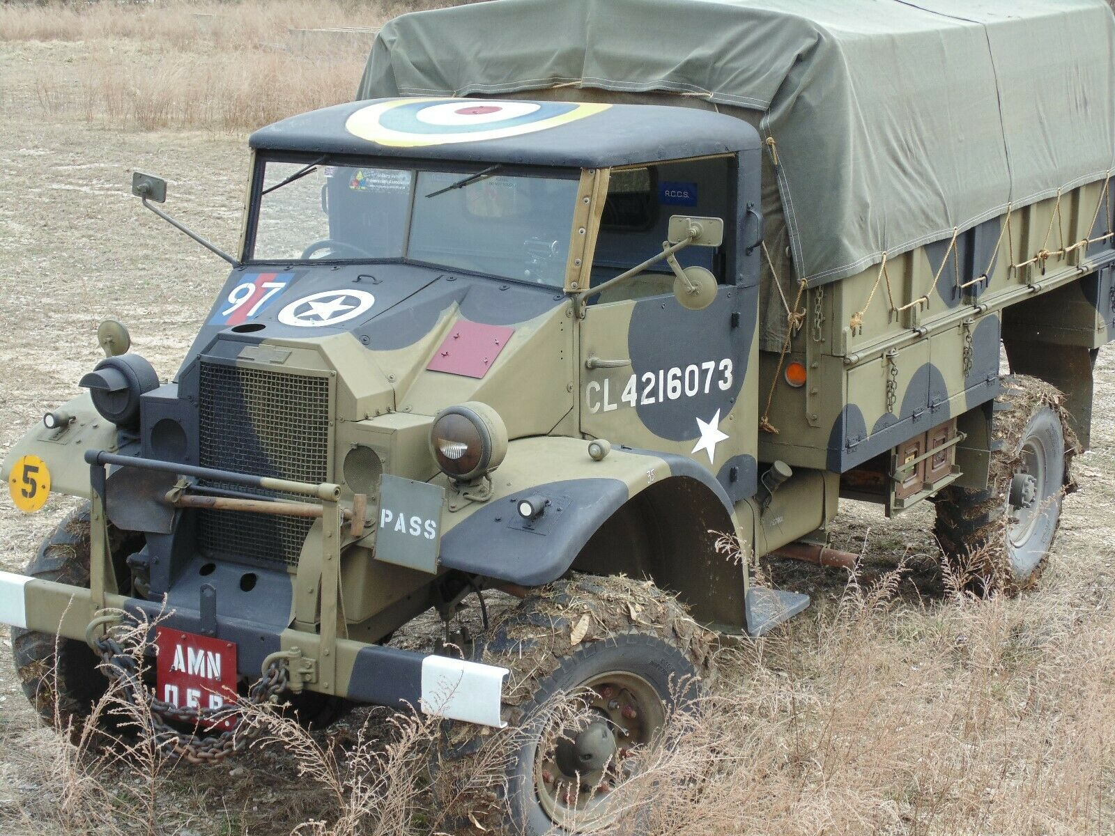 Canadian 1941 Chevrolet CMP C30 military for sale