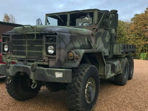 clean BMY 1991 M931a2 6X6 Military for sale