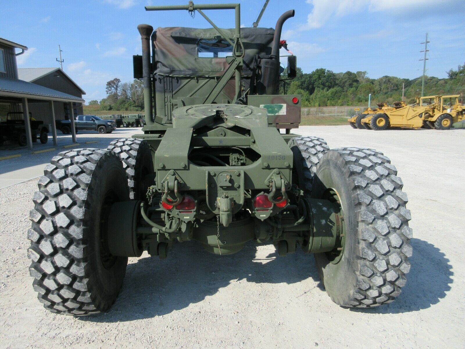great working 1990 BMY M932a2 Semi Truck military