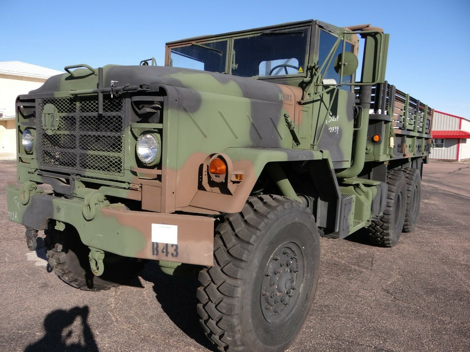 low miles 1992 BMY Harsco M923a2 truck military for sale