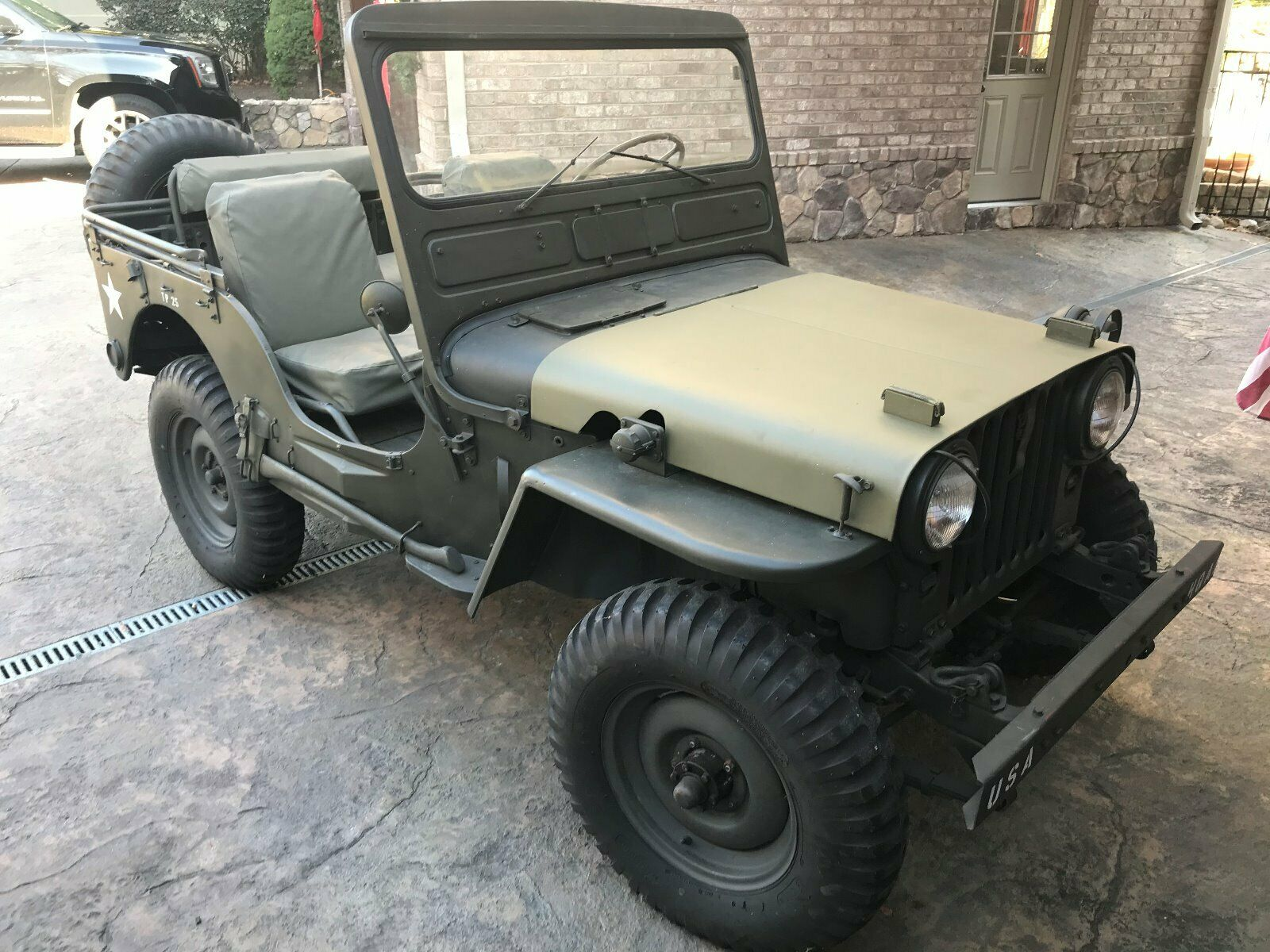 needs TLC 1951 Willys jeep military for sale