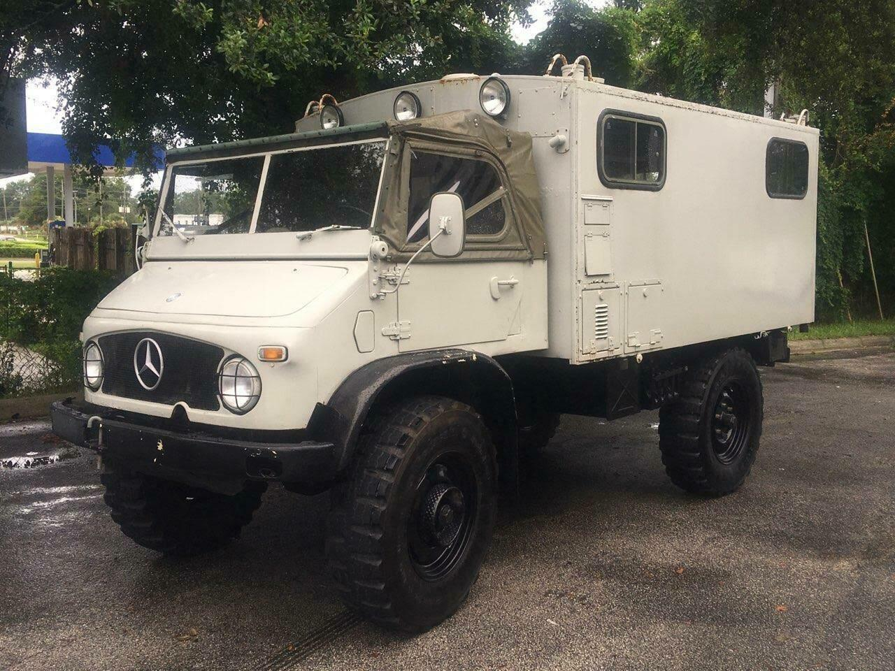 reliable 1962 Unimog Mercedes military for sale
