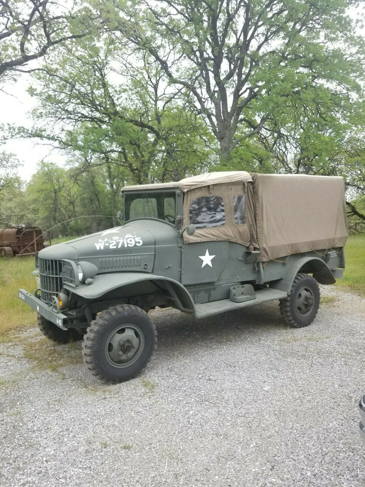 restored 1941 Dodge WC21 military for sale