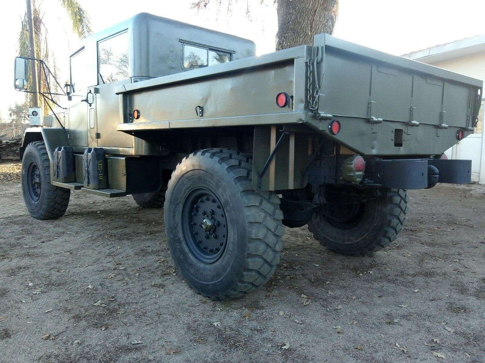 restored 1976 Jeep Kaiser M35a2 Deuce and a Half military