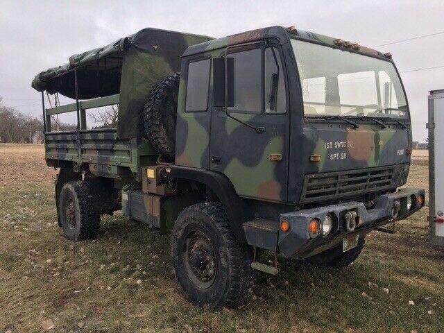 great running 1994 Stewart & Stevenson M1078 LMTV 2 1/2 Ton military for sale