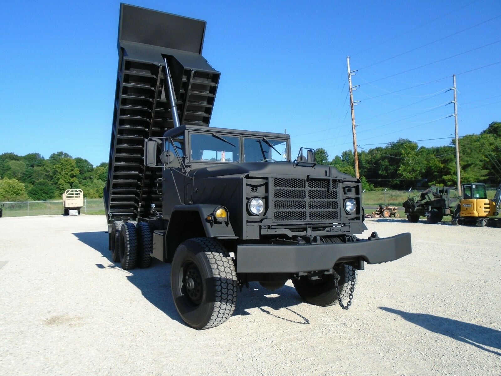 low miles 1986 AM General M942a1 dump Truck military