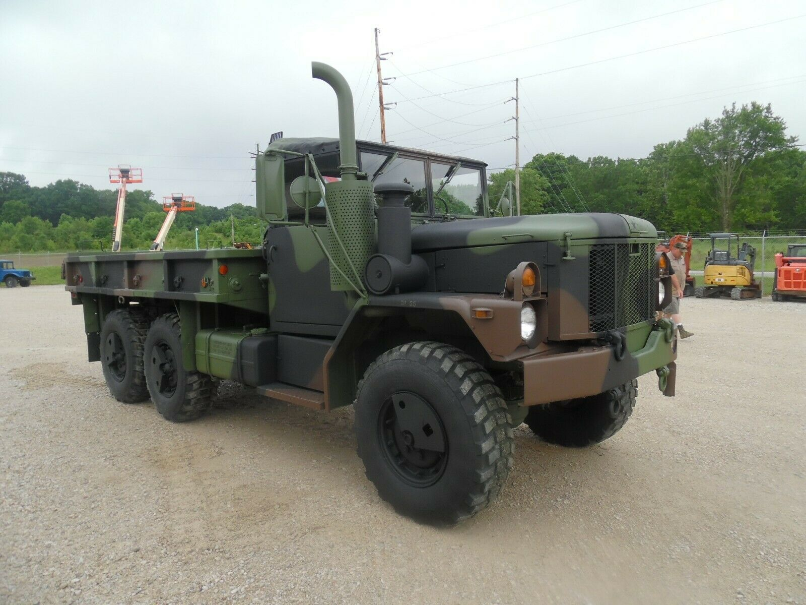 low miles 1993 AM General M35a3 military for sale