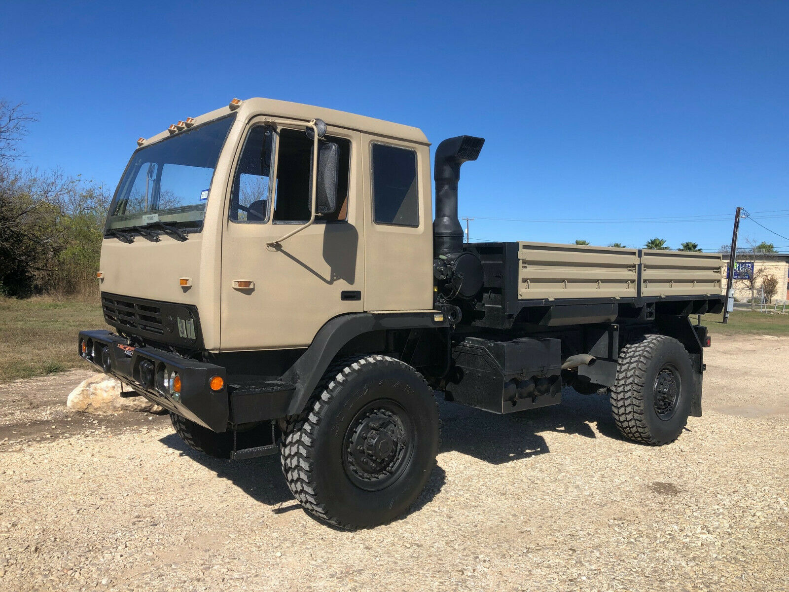 minor issues 1997 Stewart & Stevenson M1078 LMTV Military for sale
