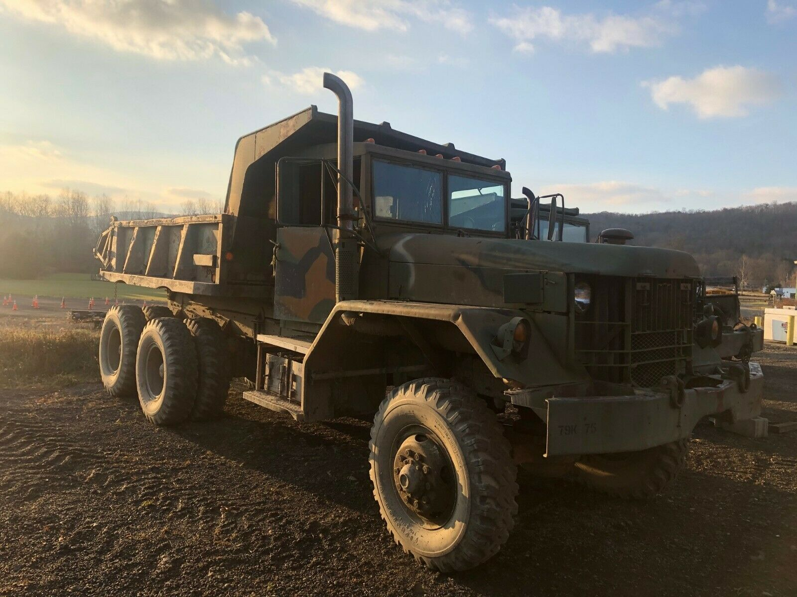 needs TLC 1959 AM General M118 5 TON 6X6 DUMP TRUCK military for sale