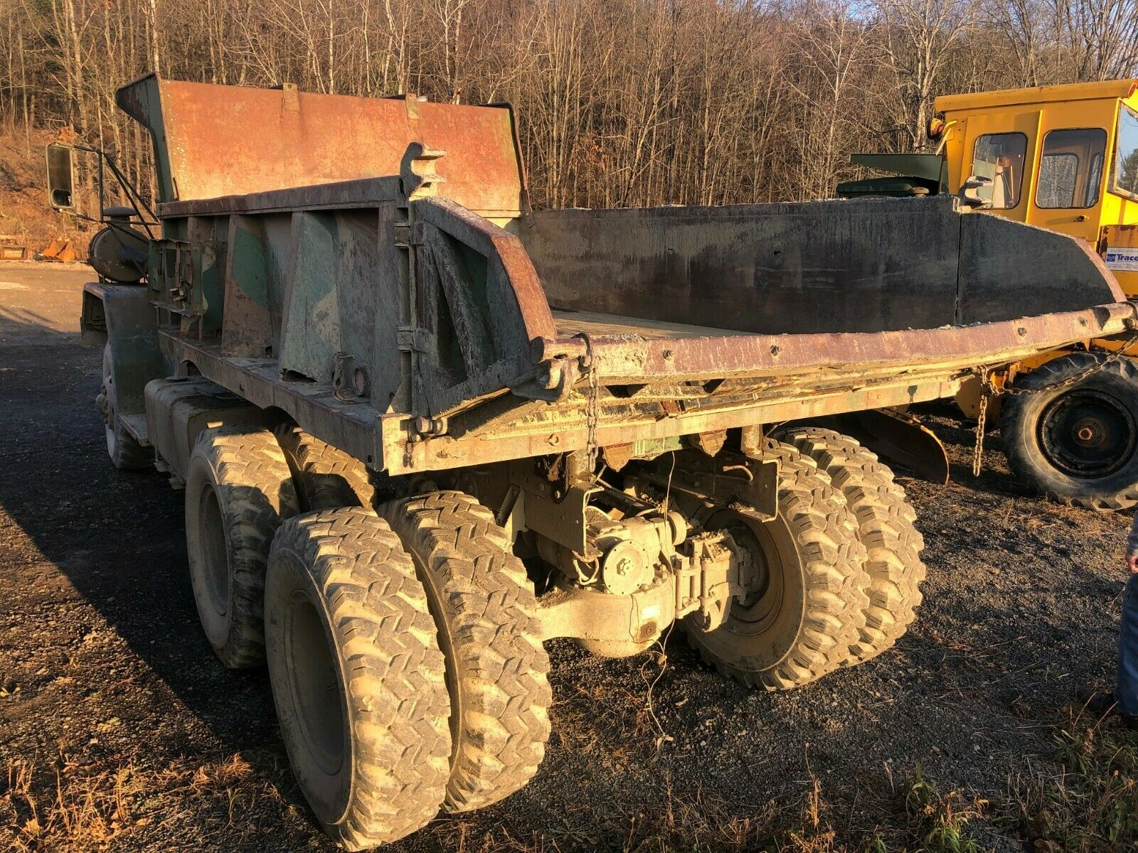 needs TLC 1959 AM General M118 5 TON 6X6 DUMP TRUCK military