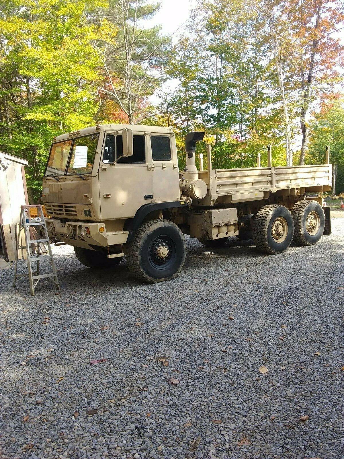 rare 1997 Stewart & Stevenson 6×6 cargo truck military for sale