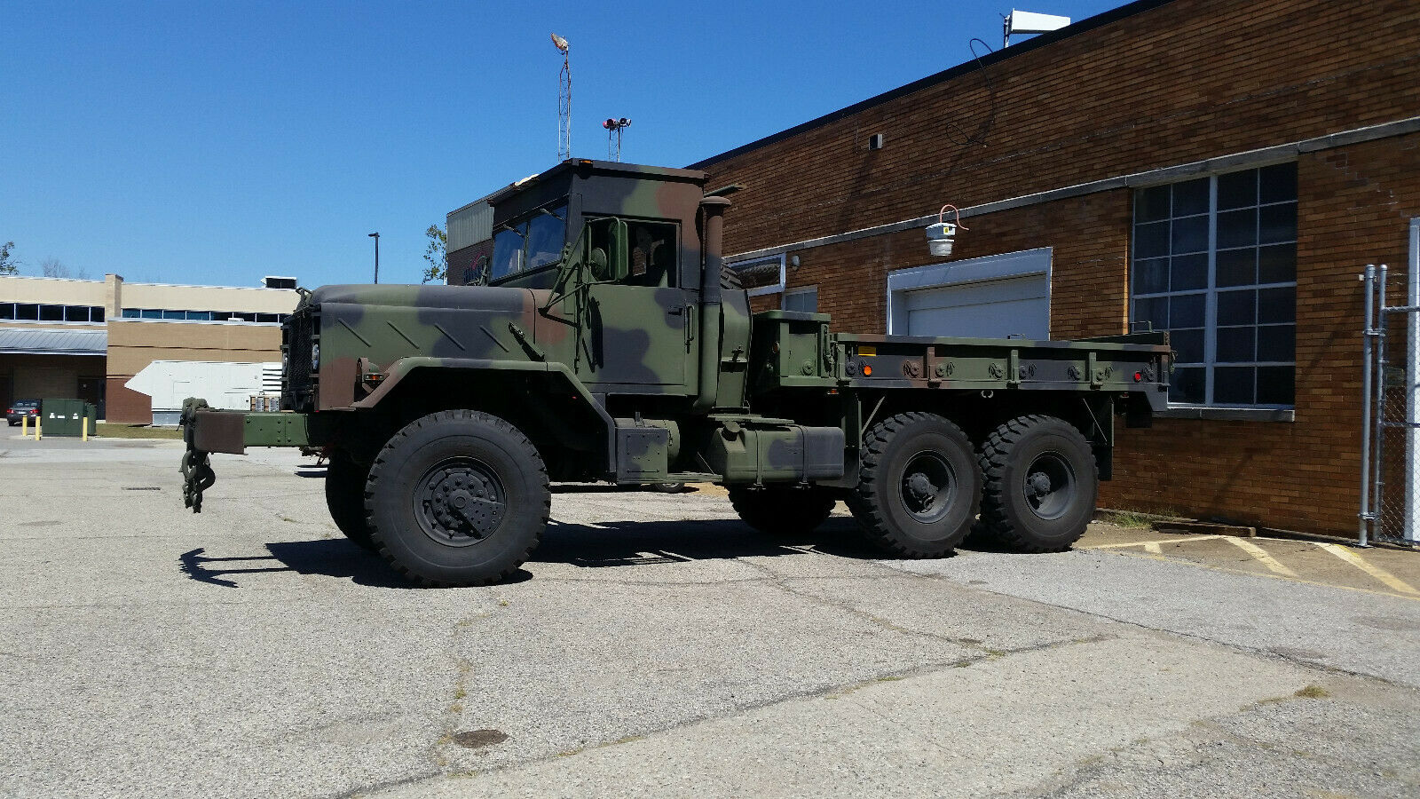 rare BMY M923a2 5 ton 6×6 miliitary