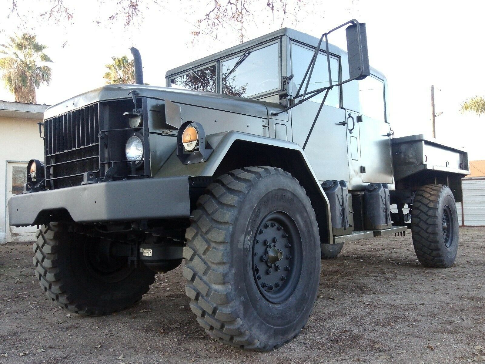 restored 1967 Jeep Kaiser M35a2 Deuce and a Half military
