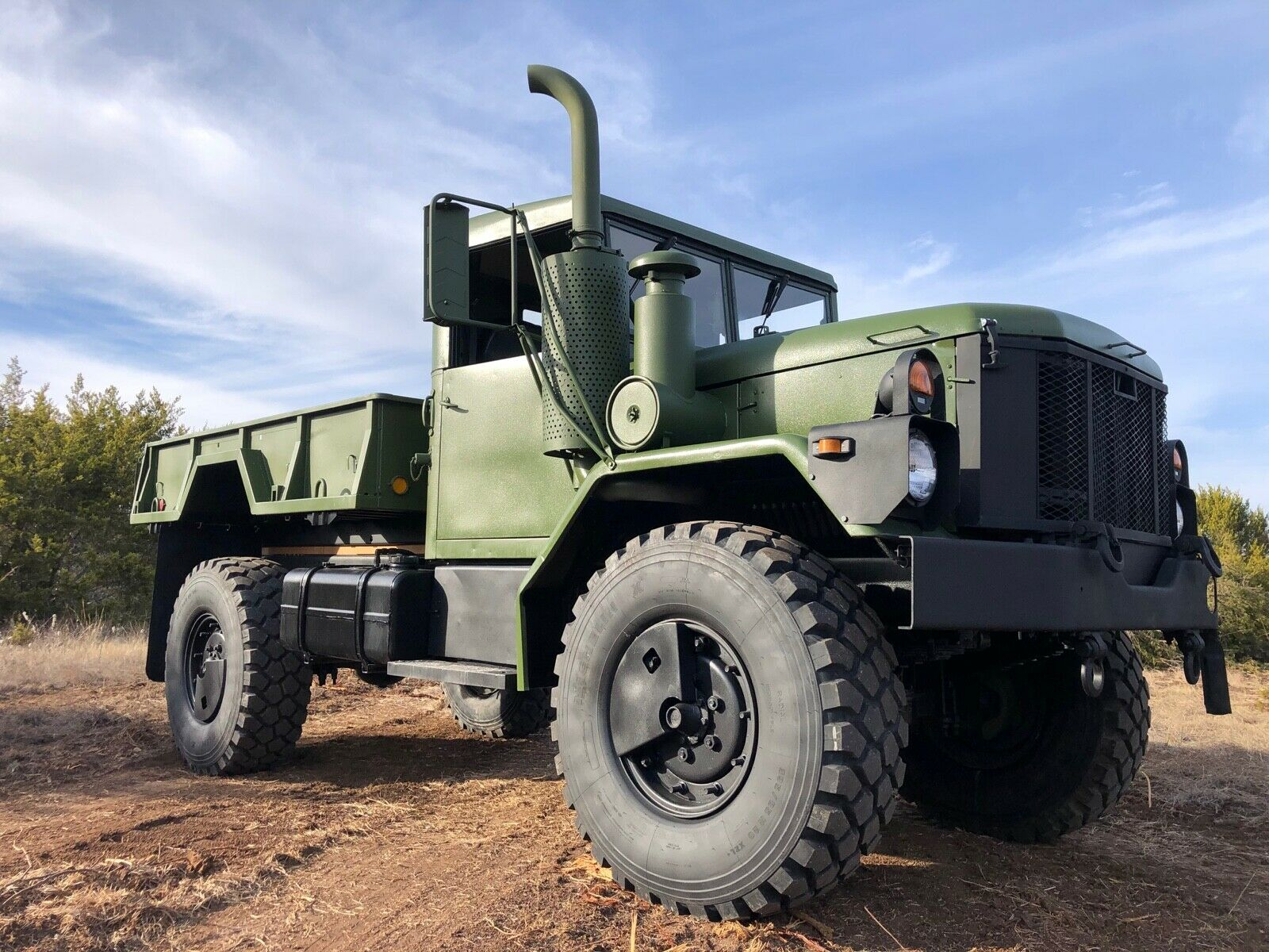 restored AM General M35a3 Bobbed Deuce Dump Truck Military for sale