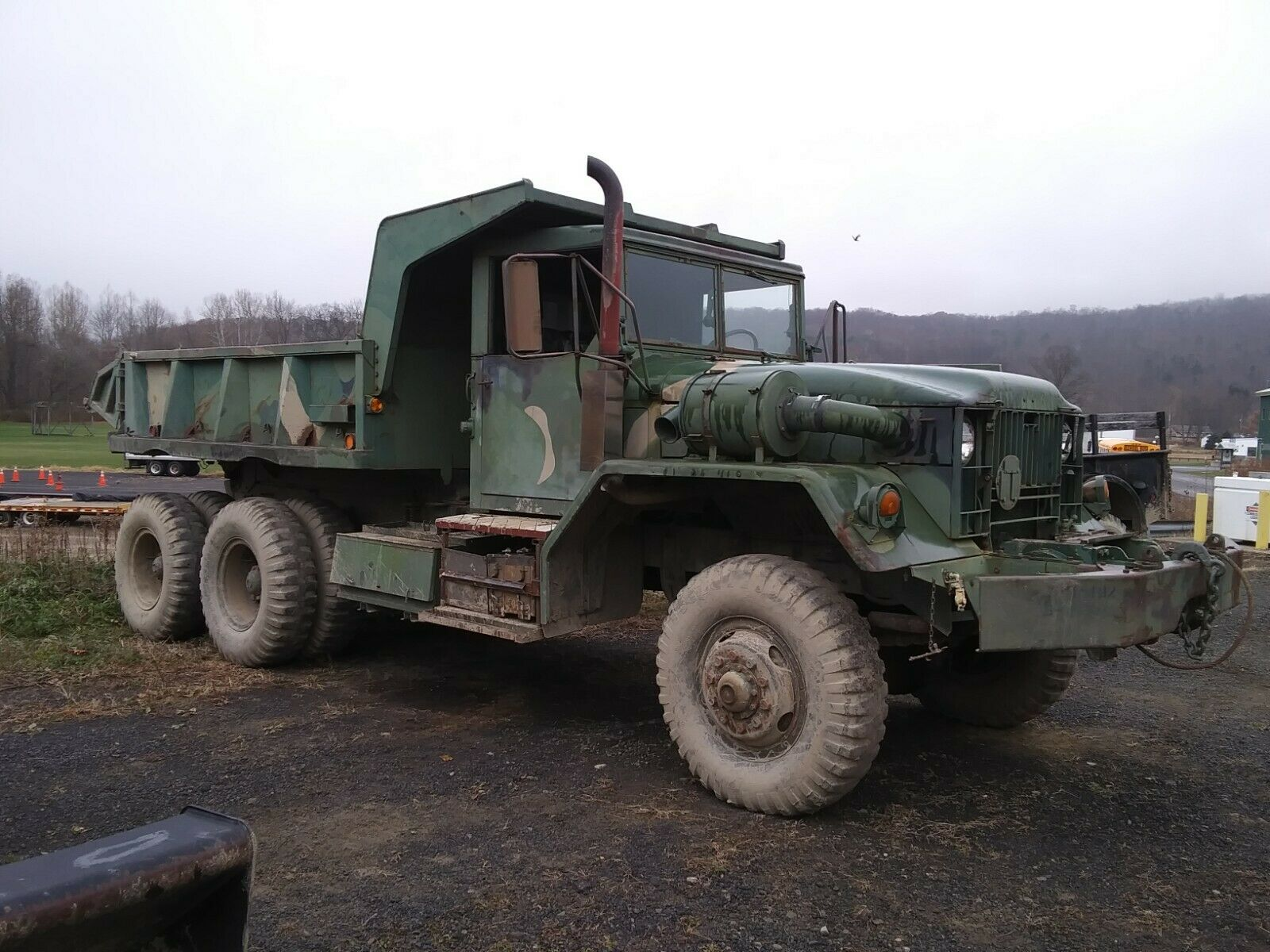 solid 1960 AM General M813 5 TON 6X6 military for sale
