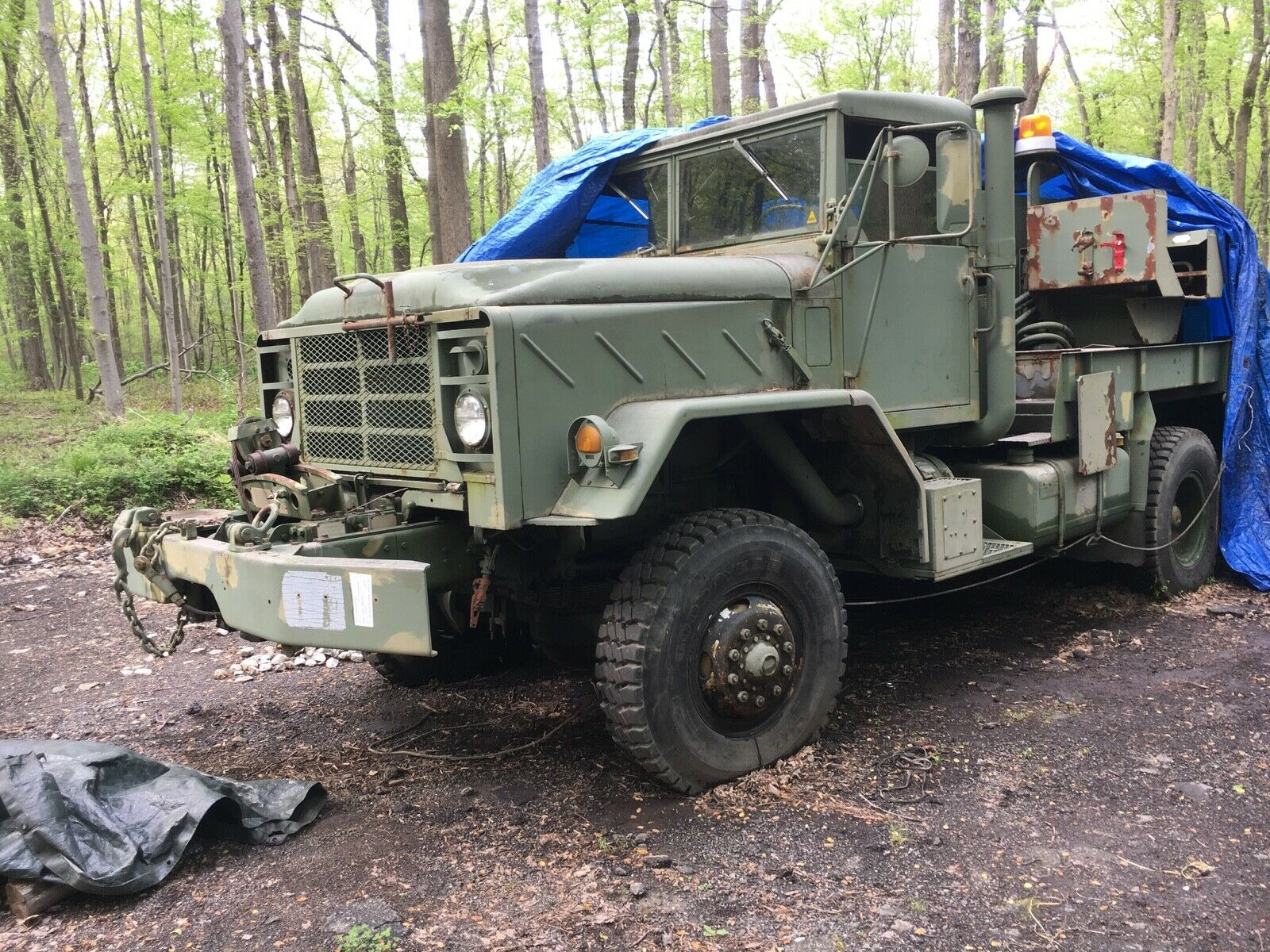 versatile 1984 AM General M936 Am General Wrecker Tow Truck Military for sale