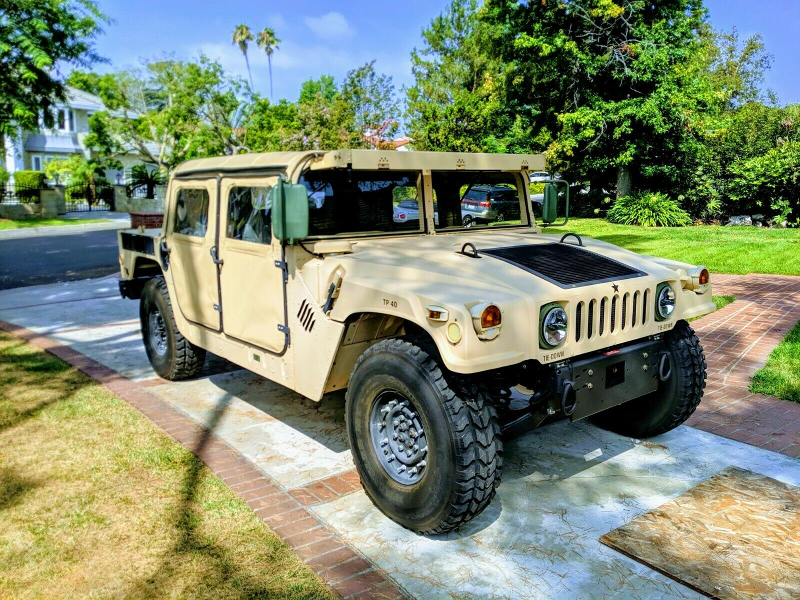 very clean 1985 AM General Hmmwv M998 Humvee H1 military for sale