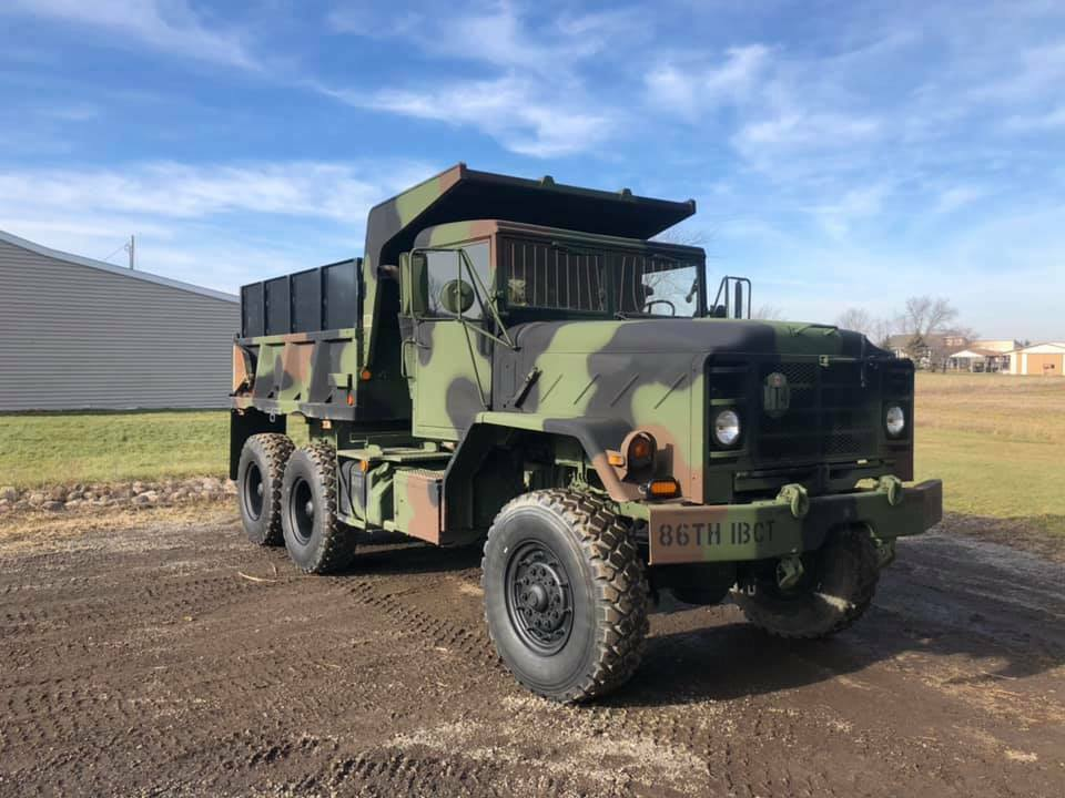 very nice 1990 BMY M929a2 Dump truck Military for sale
