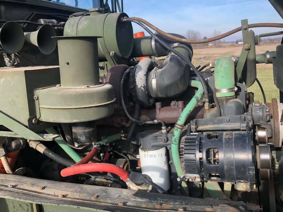very nice 1990 BMY M929a2 Dump truck Military