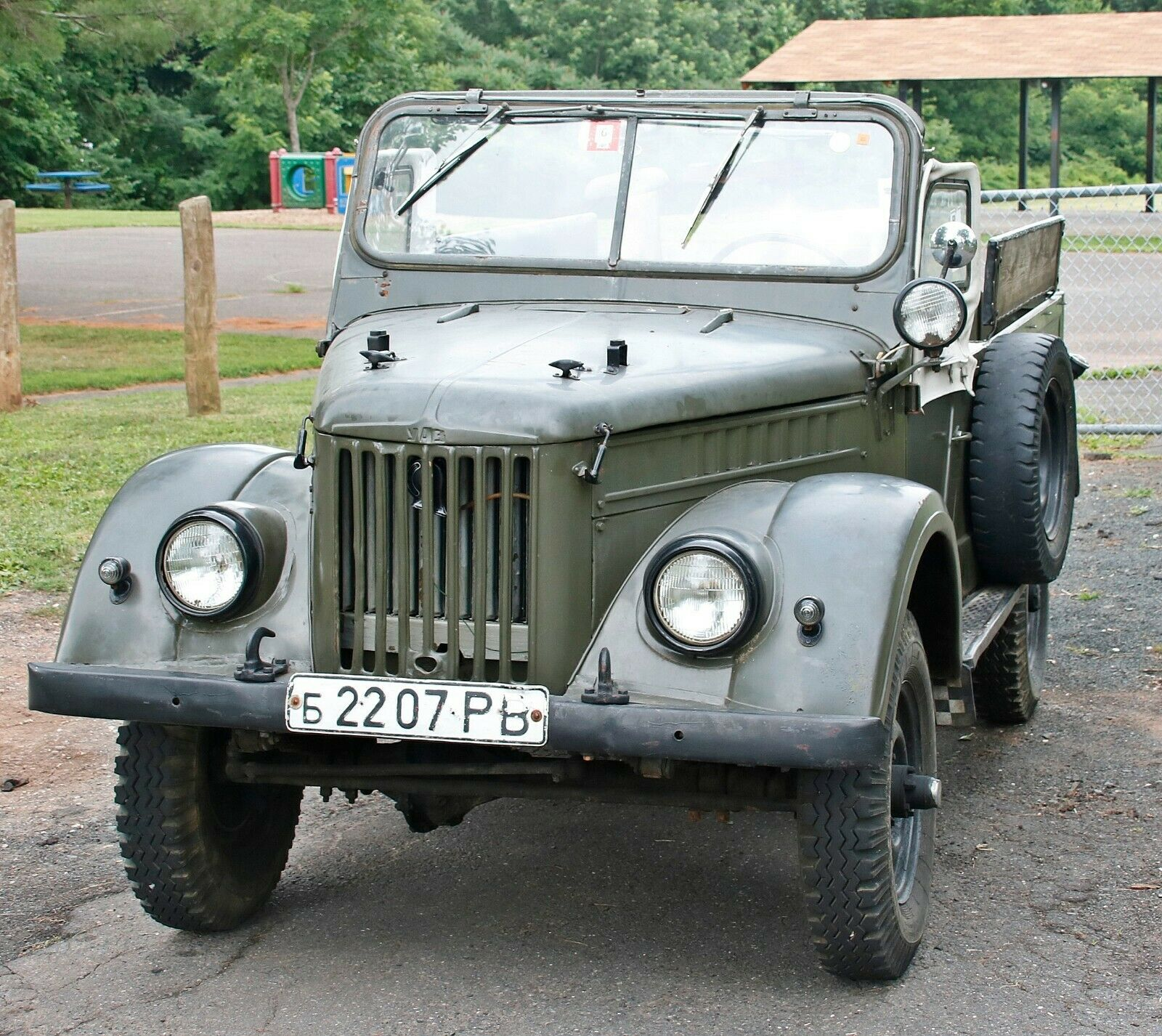 low miles 1957 GAZ 69 military for sale