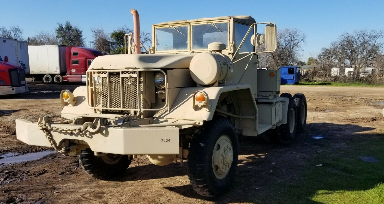 low miles 1970 Kaiser M818 military for sale