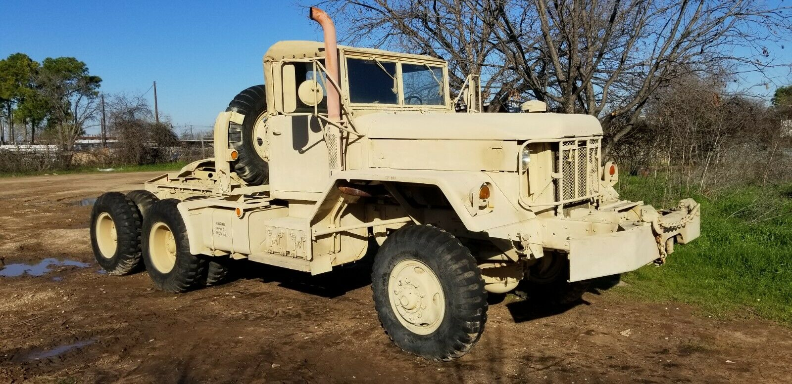 low miles 1970 Kaiser M818 military
