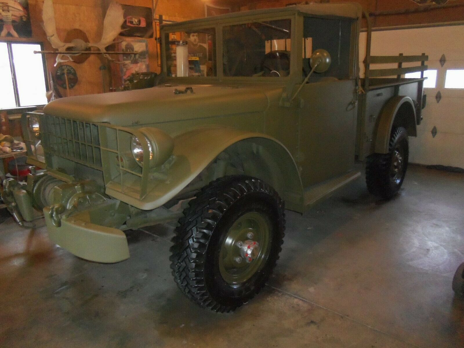 many new parts 1963 Dodge M37 Power WAGON military for sale