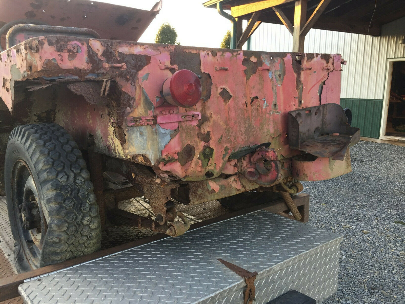 project 1942 Ford GPW Willys MB WWII Jeep military