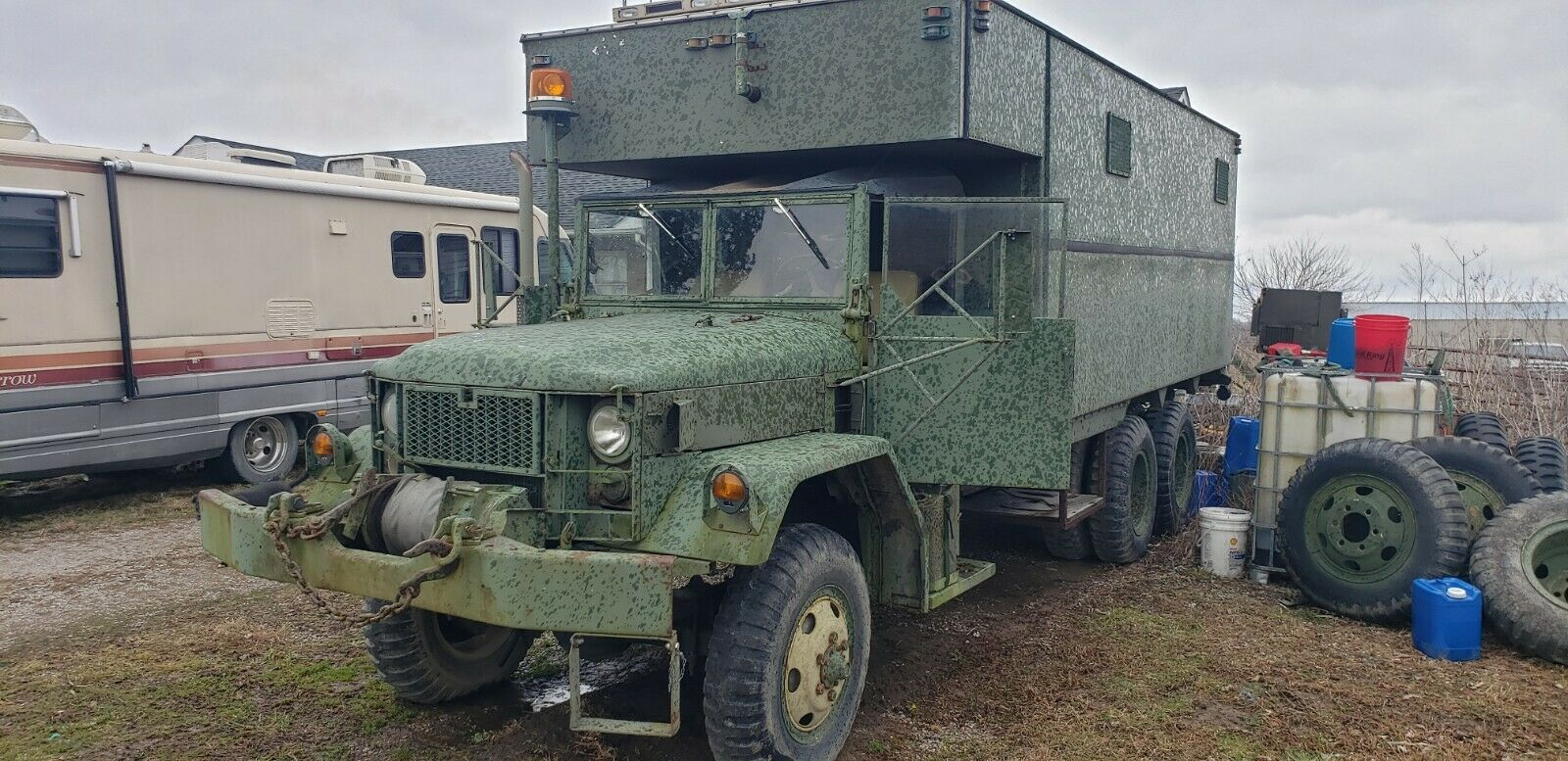 tons of extras 1968 Kaiser Military