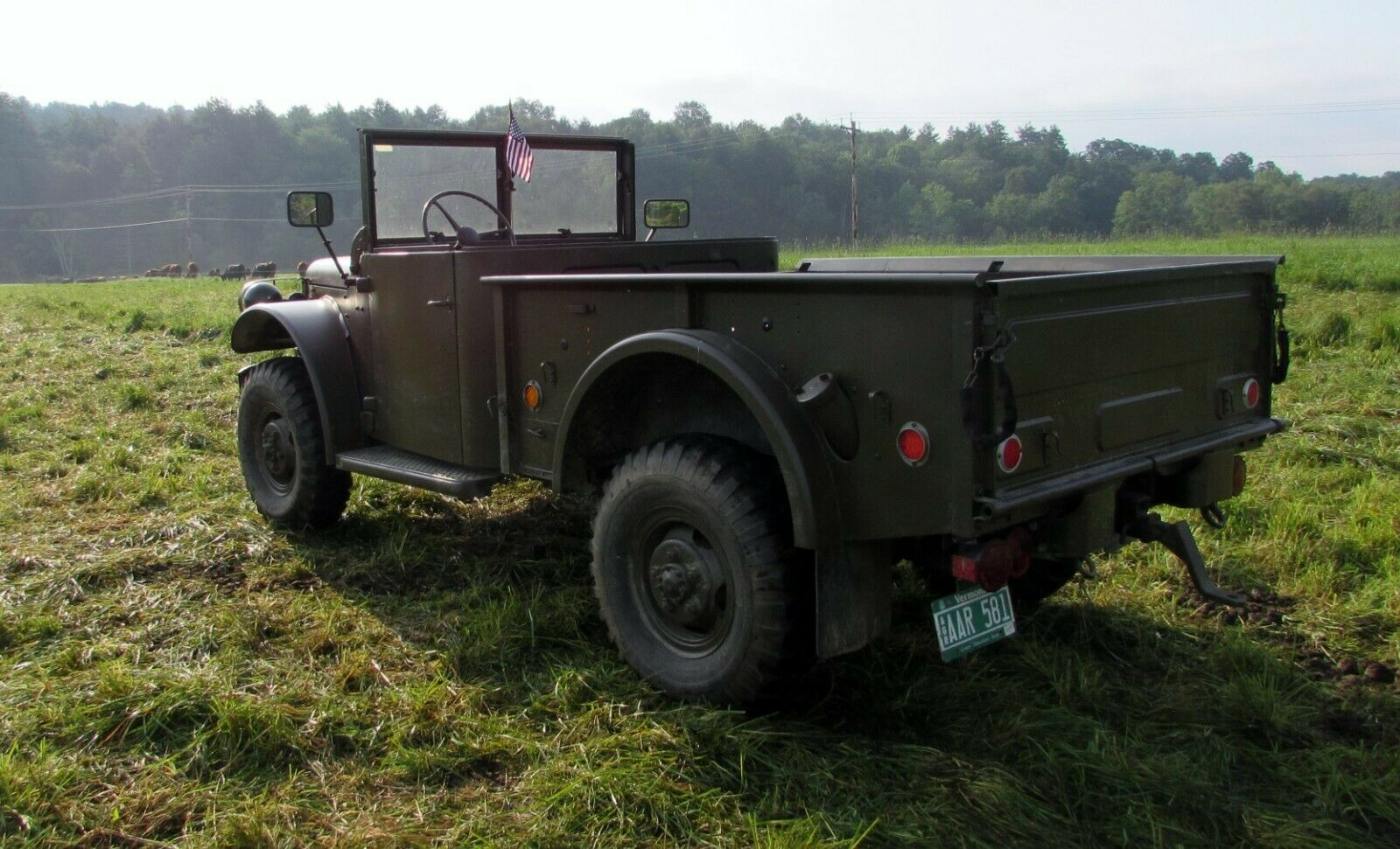 very nice 1951 Dodge M37 military