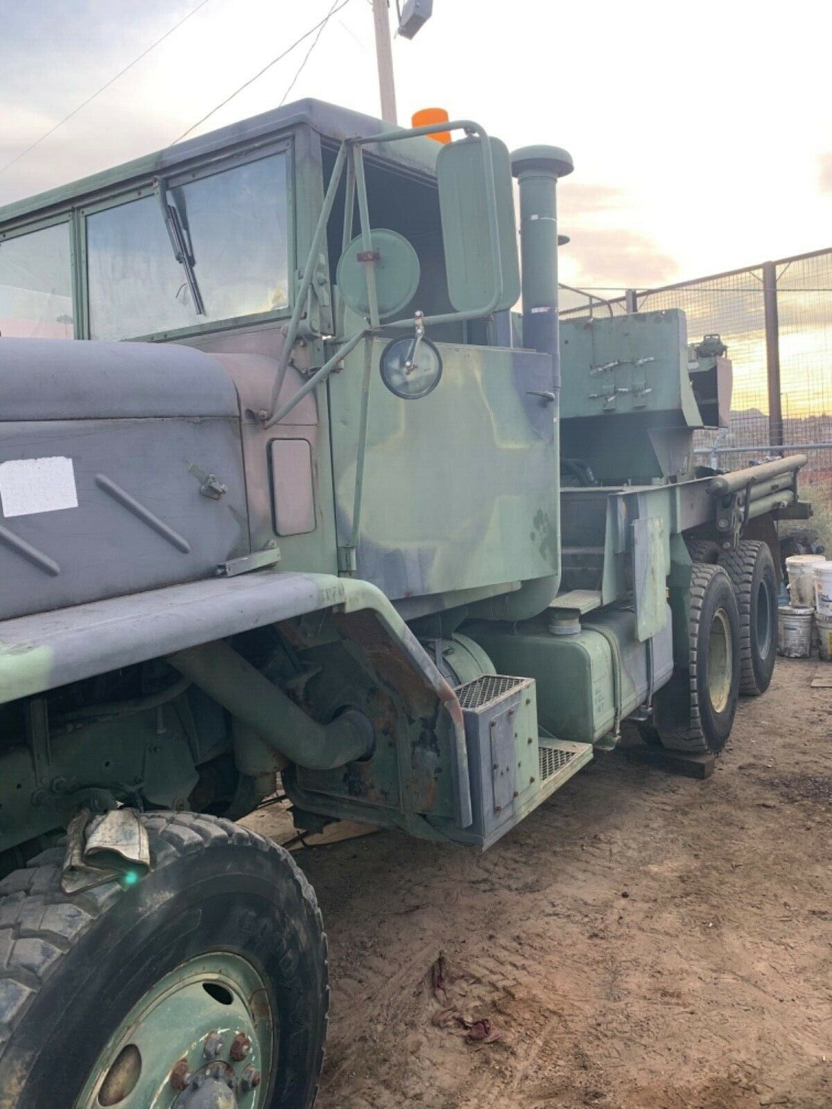 everything works 1984 AM General M936 6×6 Wrecker military for sale
