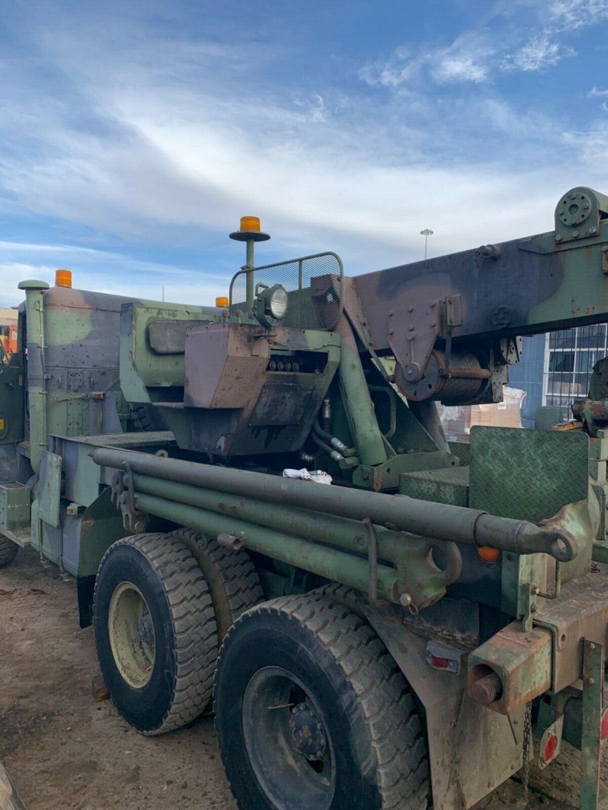 everything works 1984 AM General M936 6×6 Wrecker military