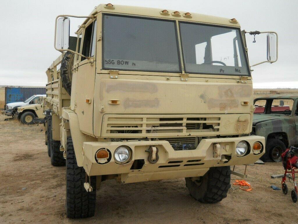 excellent shape 1998 Stewart & Stevenson M1093 MTV Air Drop 6X6 Cargo Truck military for sale