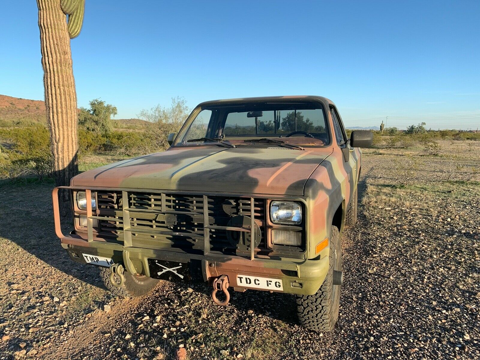 greyt shape 1986 Chevrolet 4×4 5/4 Ton M1008 CUCV military for sale