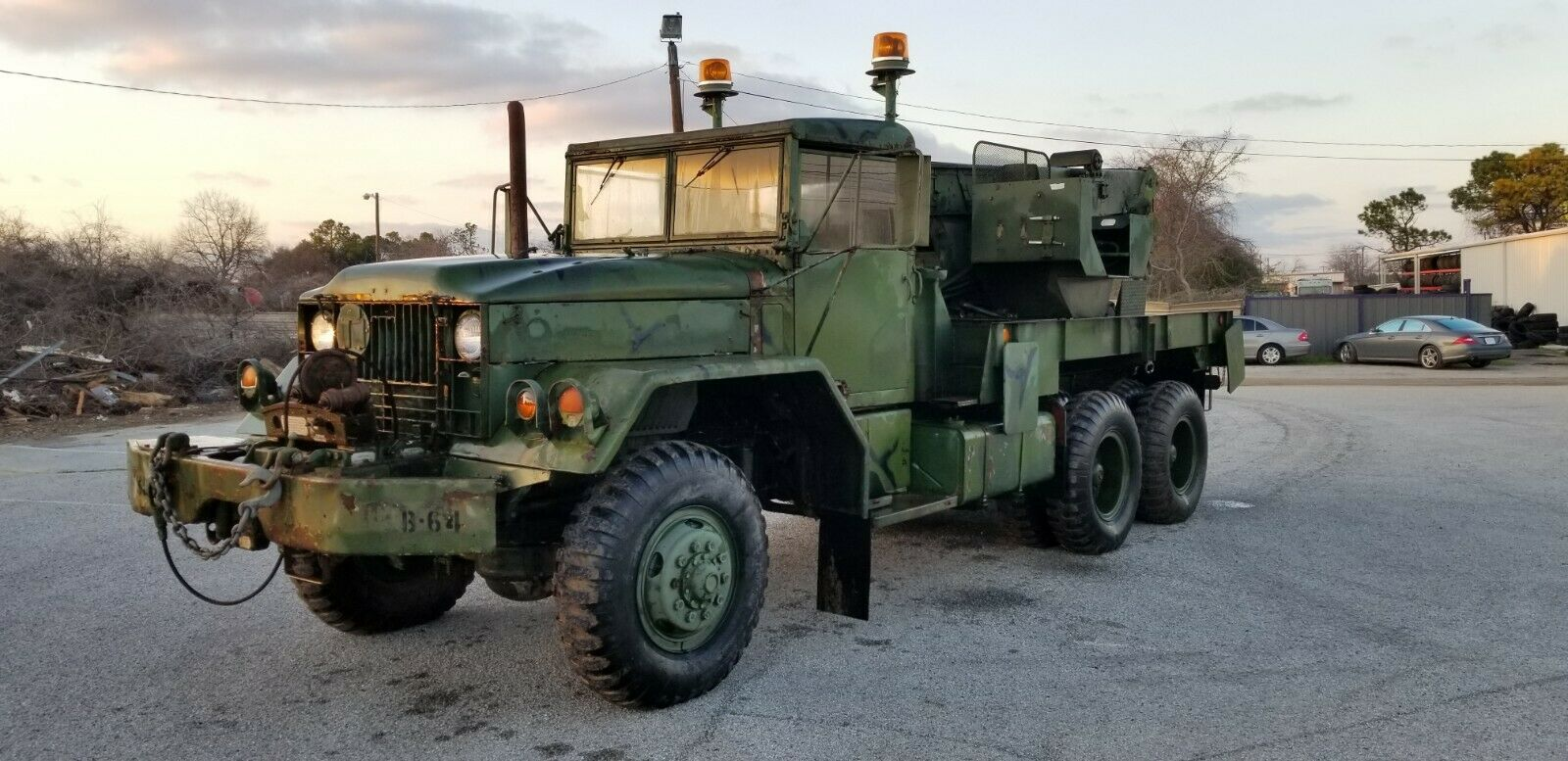 improved 1976 Kaiser Jeep M543a2 5 Ton Wrecker Military for sale