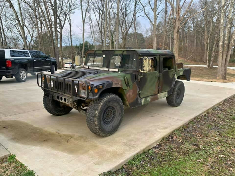 low miles 1994 AM General M998 Humvee military for sale