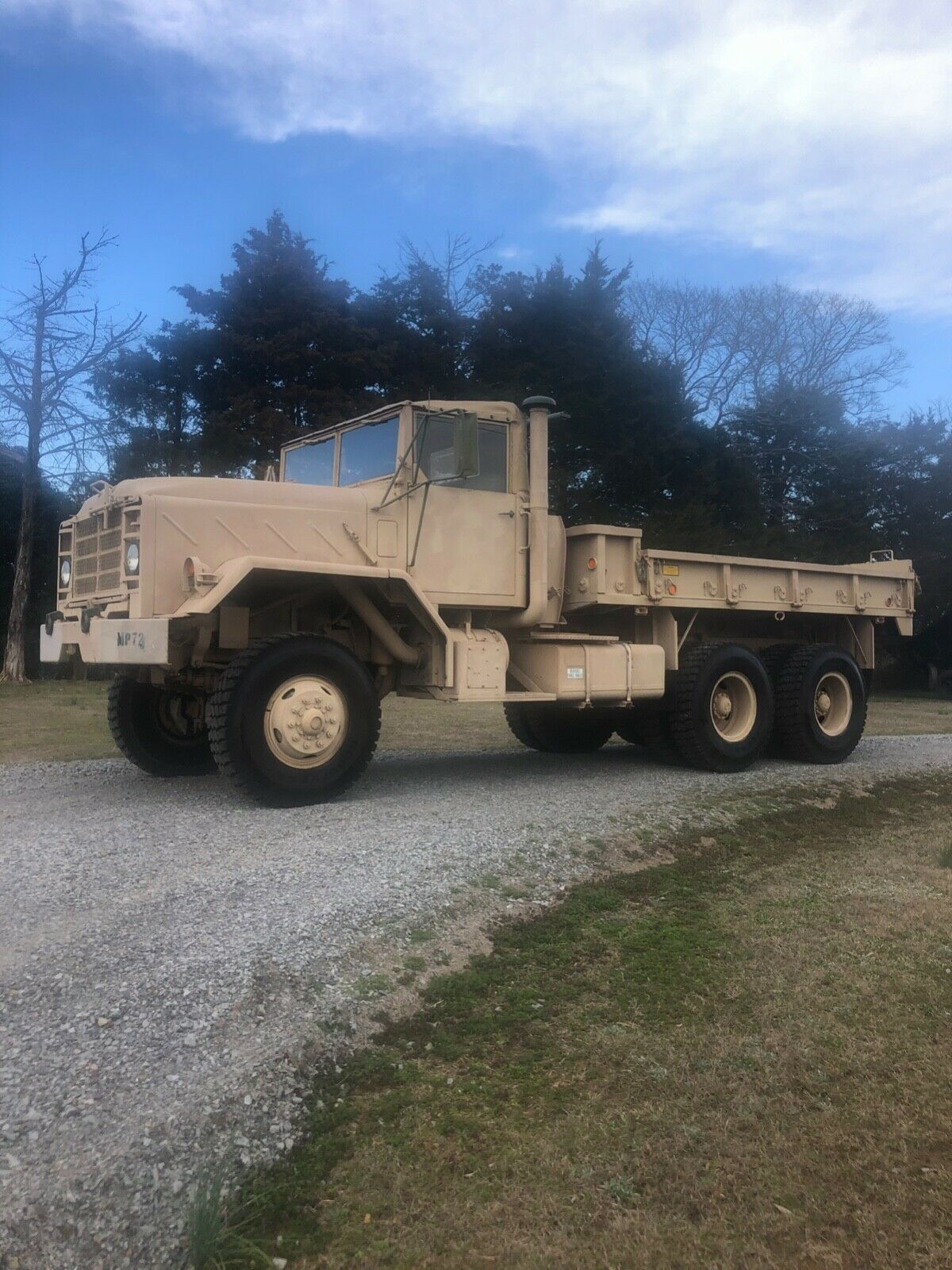 no issues 1987 AM General M923 6×6 military for sale